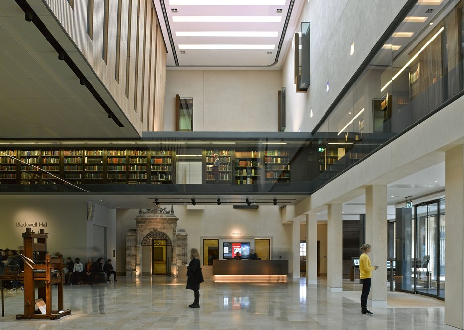 Weston Library by Wilkinson Eyre.