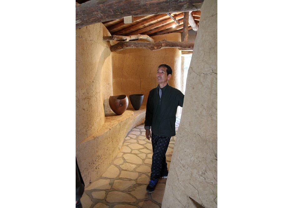 A highlight was learning from traditionalist craftsman Akira Kuzumi