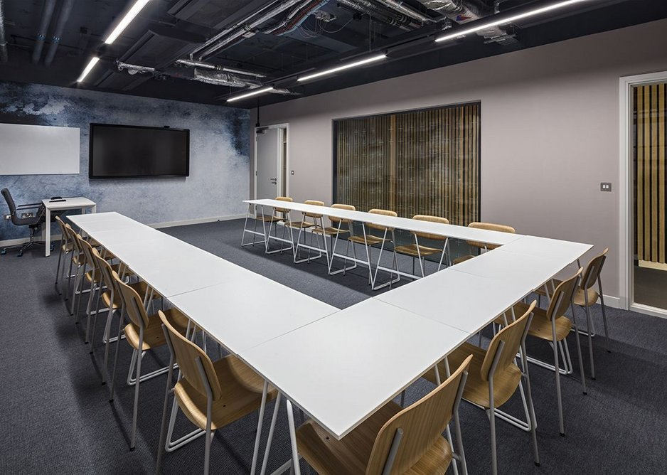 Danfloor's Nordform Eco Weave nylon carpet at Southbank International School.