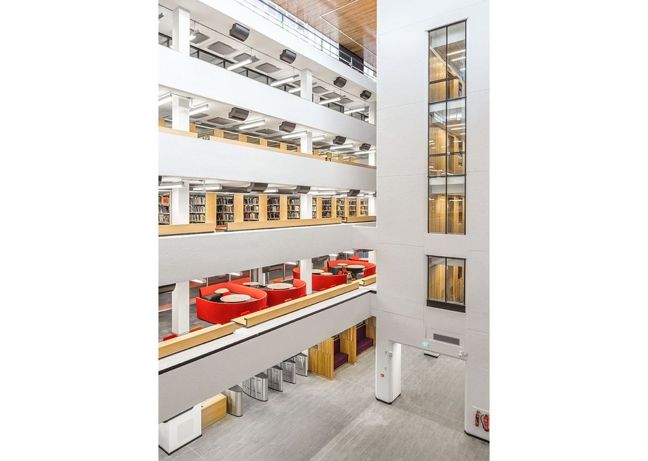 Associated Architects' refurbishment of the University of Leeds's Edward Boyle Library has transformed the Grade II listed 1970s building