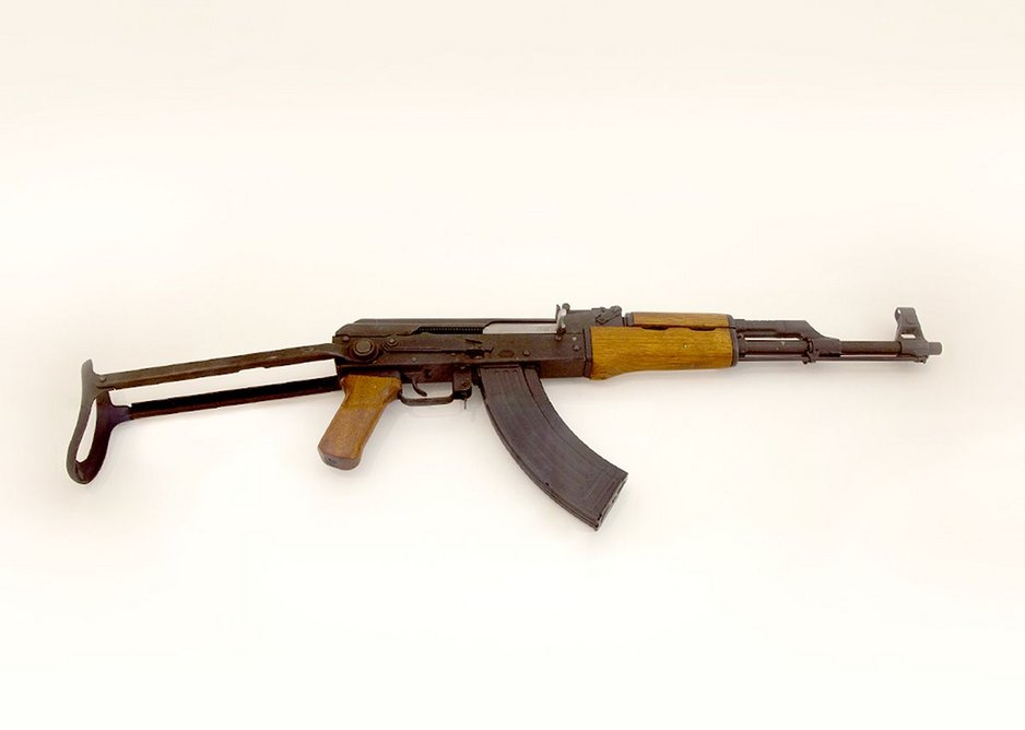 Nor will it cost you a penny to view Mikhail Kalashnikov's AK47 assault rifle.