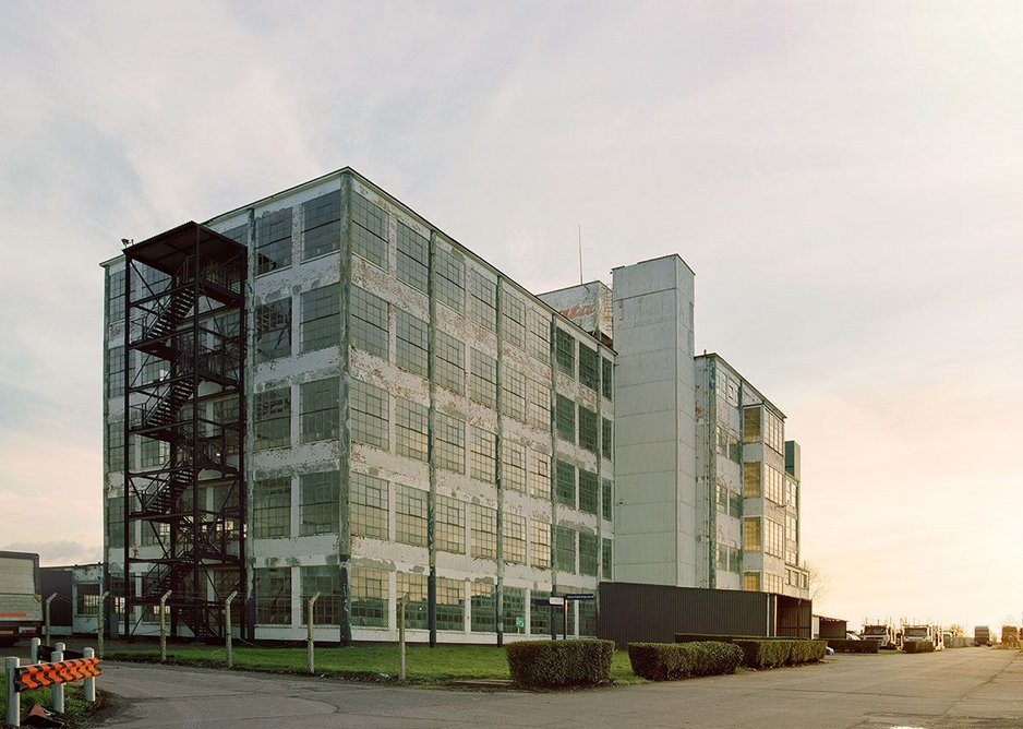 Bata Shoe Factory, East Tilbury, 2016, founded by Czech shoemaker Tomas Bata in 1932.
