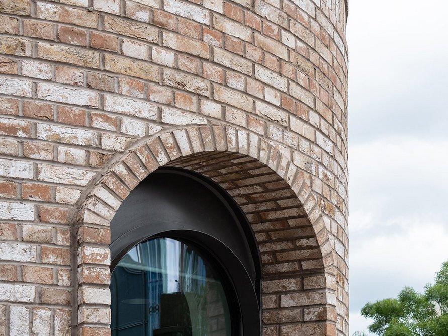 Facing bricks were supplied by Taylor Maxwell.