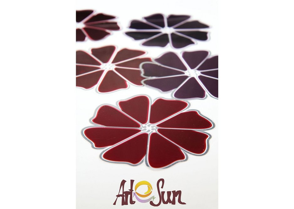 The solar cells can be printed in any shape.