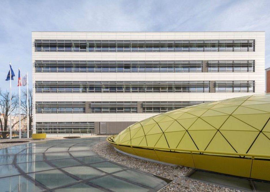 Educational Complex, Tomas Bata University, Zlín, Czech Republic, 2017, designed by AI DESIGN.