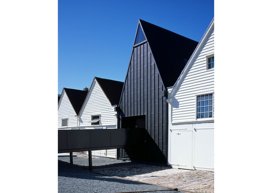 Command of the Oceans, Chatham by Baynes and Mitchell Architects.