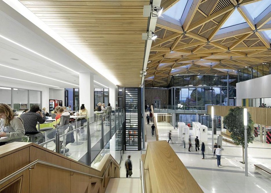 Wilkinson Eyre's Forum at Exeter University.