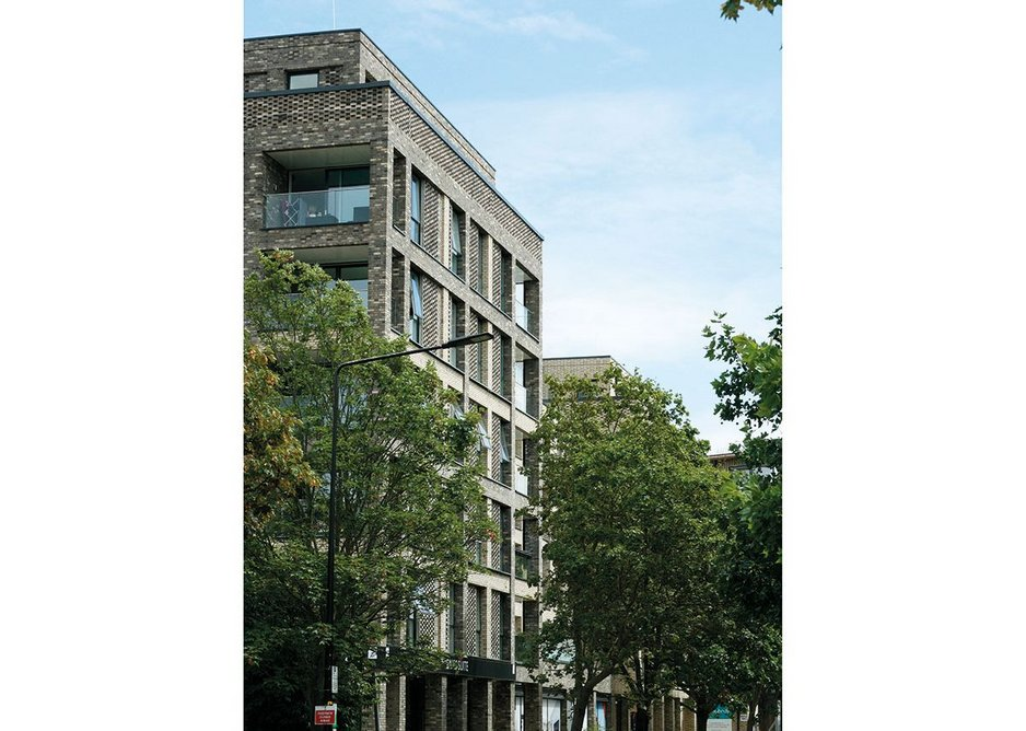Quebec Way, Canada Water, London, one of Channon's recent projects.