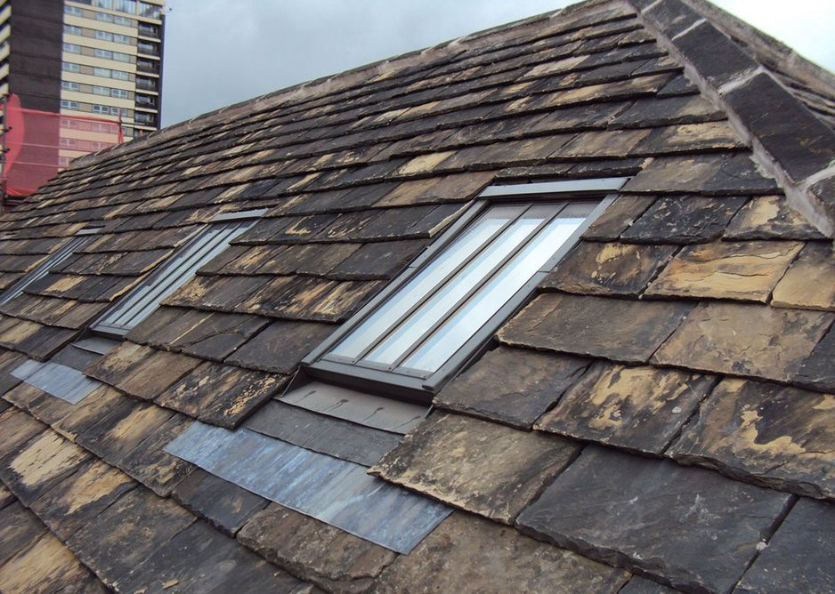 Fakro bespoke conservation roof windows at Rochdale Pioneer Museum.