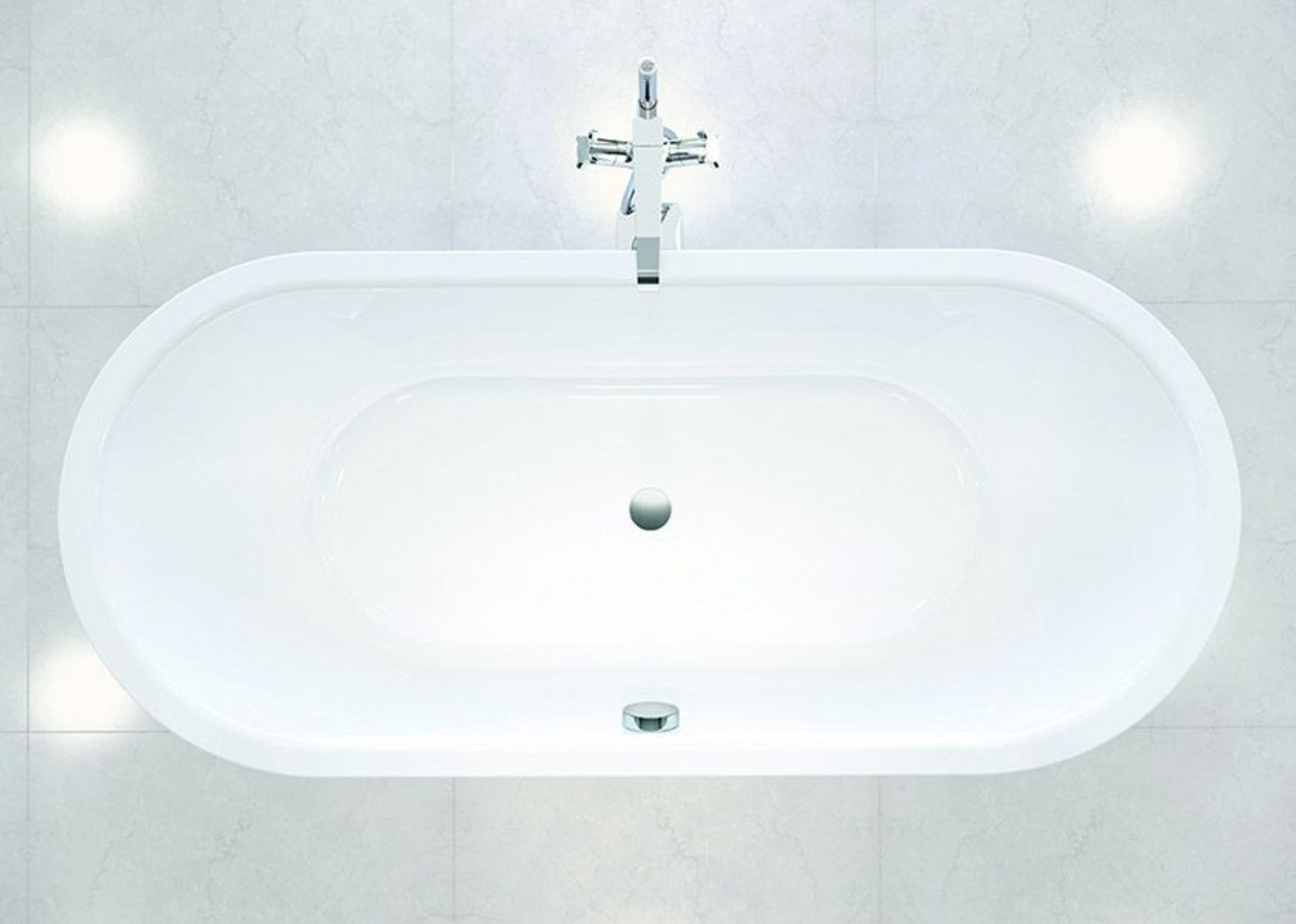 With two comfortable backrests the Kaldewei Meisterstück Classic Duo Oval guarantees relaxed bathing.