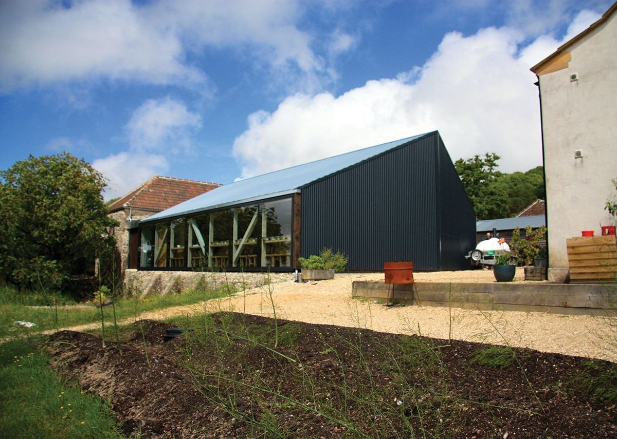 Small project award winner: River Cottage Cookery School, Devon