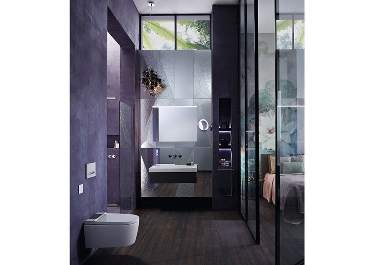 Geberit's AquaClean shower toilet brings a sense of freshness and wellbeing to personal care.