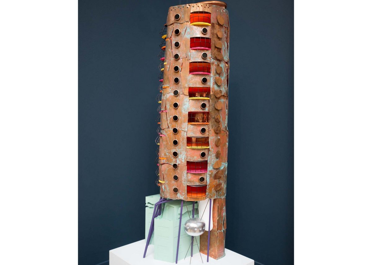 Heliport Heights by Will Alsop, winner of the Turkishceramics Grand Award for Architecture.