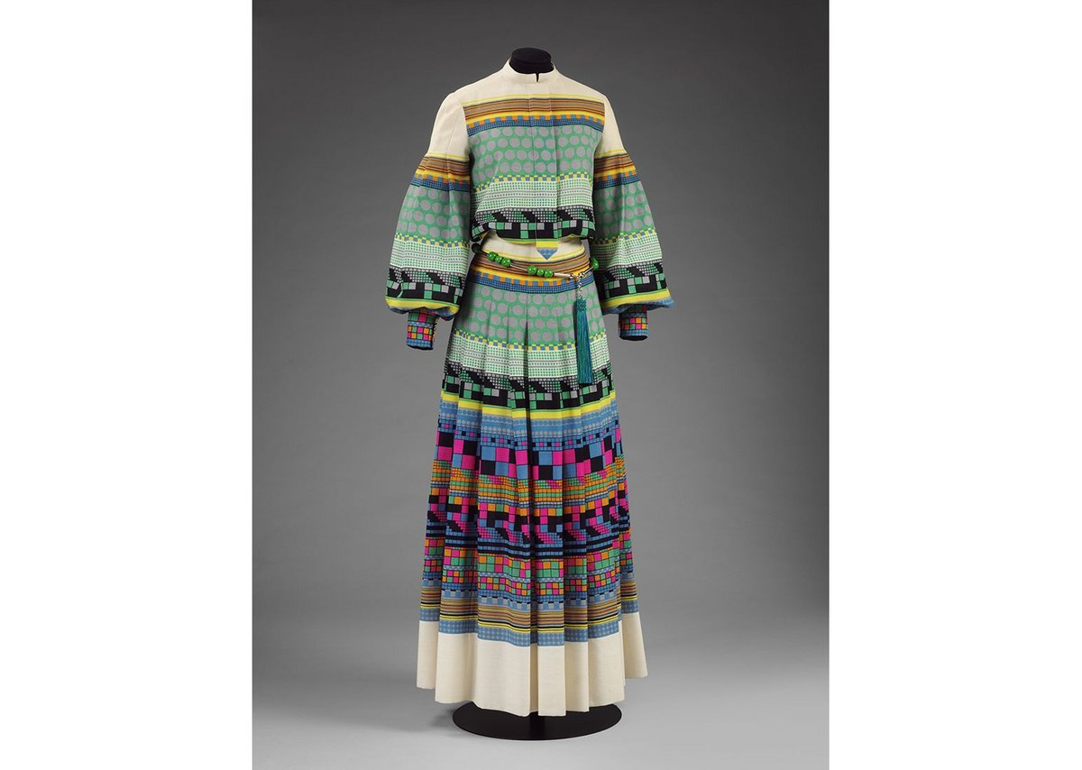 Eduardo Paolozzi, Djerba Dress, 1971, VAM.