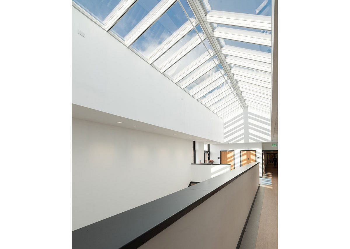 Velux Ridgelight: Opening up to the skies over two storeys.