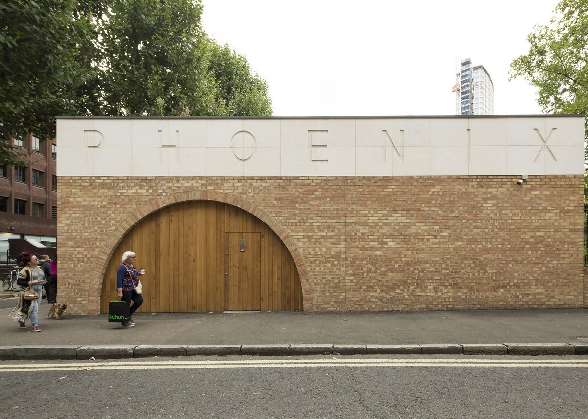 Phoenix Garden Community Building by Office Sian was shortlisted for an RIBA Regional Award.