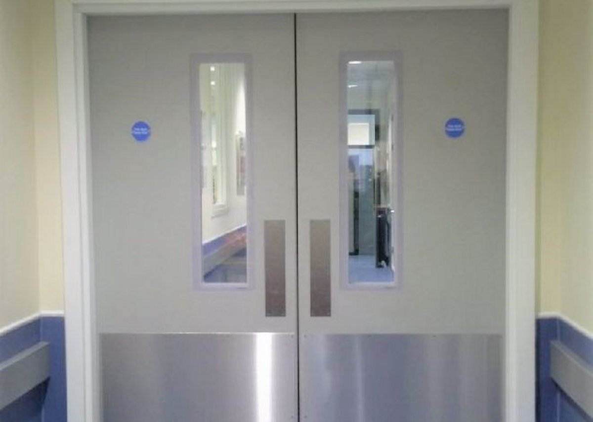 Hygidoors provide up to 60 minutes fire protection