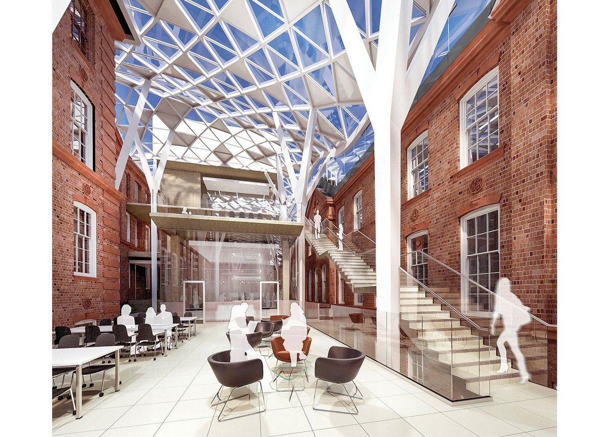 Sheffield University's Heartspace – Bond Bryan attempts to create a new social centre for its engineering faculty.