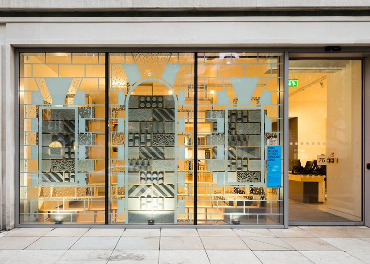 RIBA, 76 Portland Place with CAN.