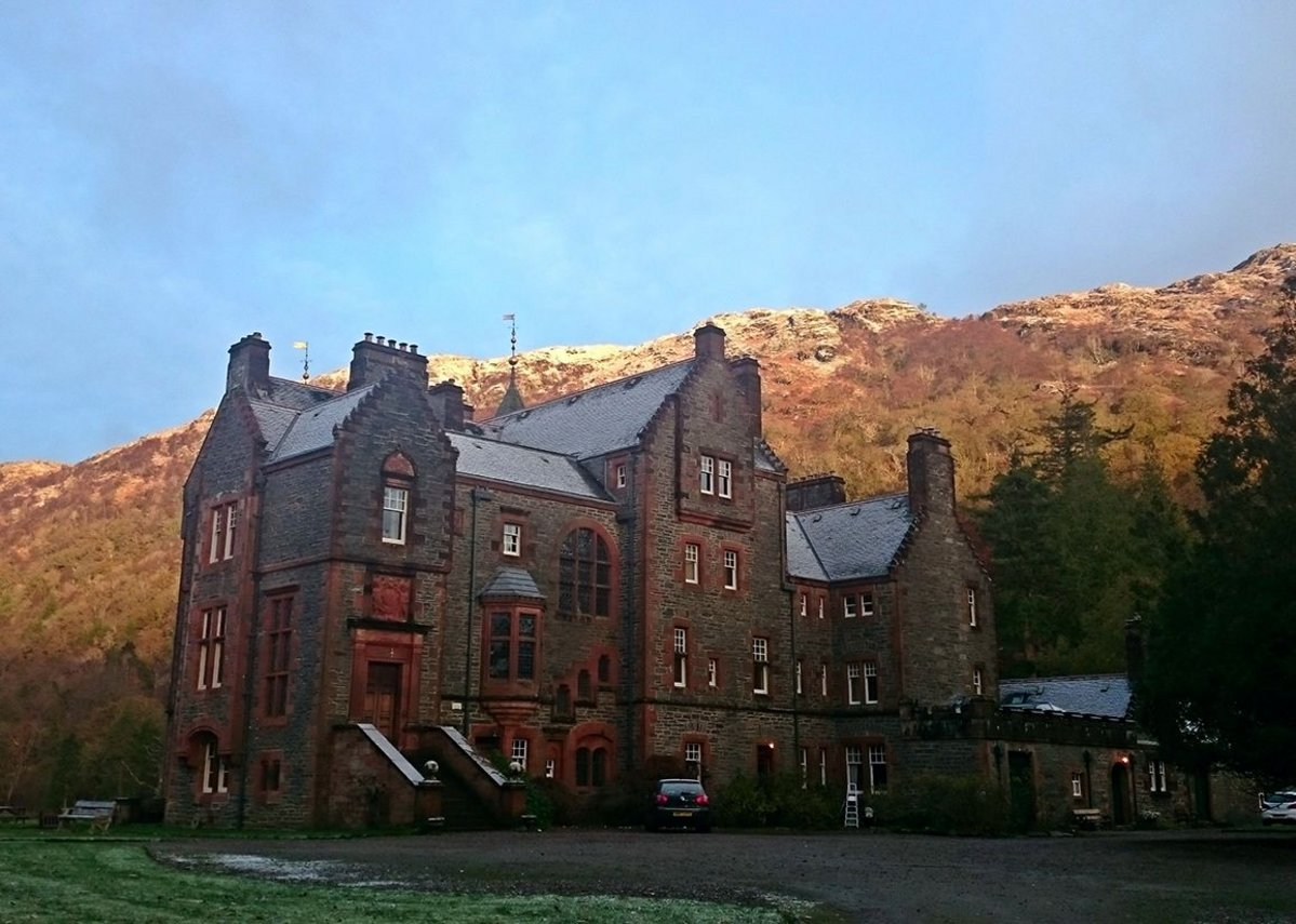 Kinlochmoidart, Inverness-shire, The mansion was completed in 1884 and was William Leiper's only house in the Highlands.