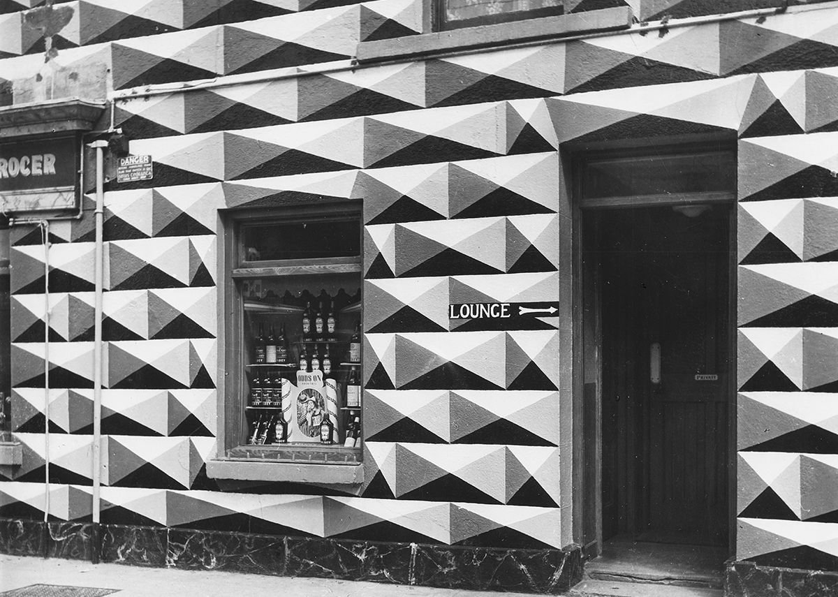 Bar in Cabinteely, Dublin, 1950