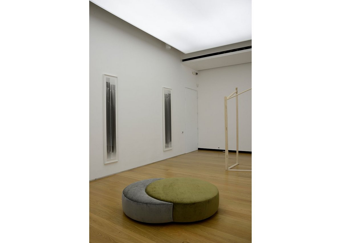 Becky Beasley, OUS installation view, 2017. Clearing installation developed in dialogue with Caroline Le Breton. Towner Art Gallery, Eastbourne.
