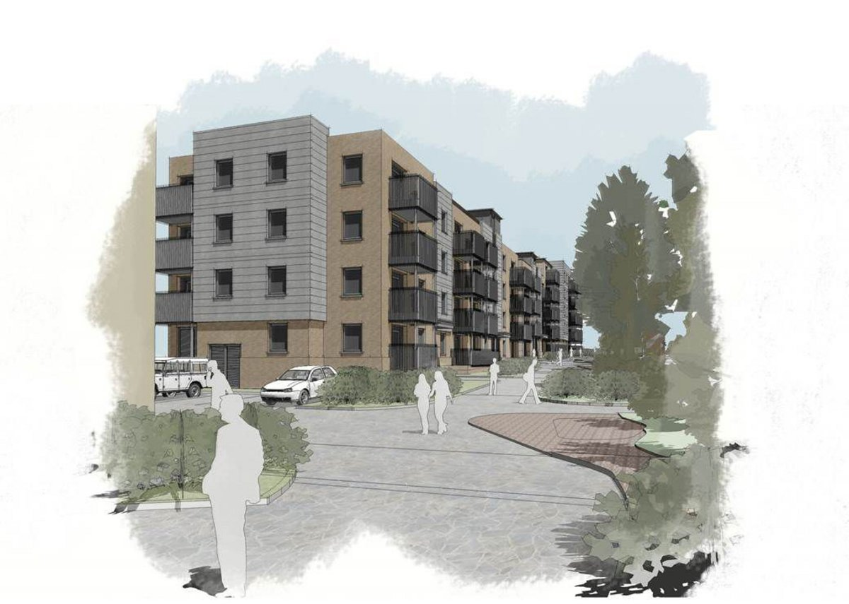 Ebbsfleet Garden City housing by Lee Evans Partnership