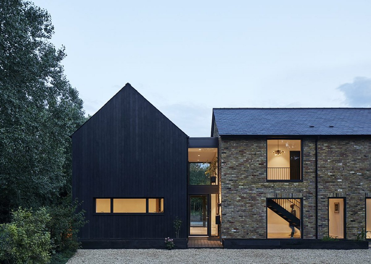 Samarkand, a 1970s and '80s house refurbishment project. The practice is doing more and more of these.