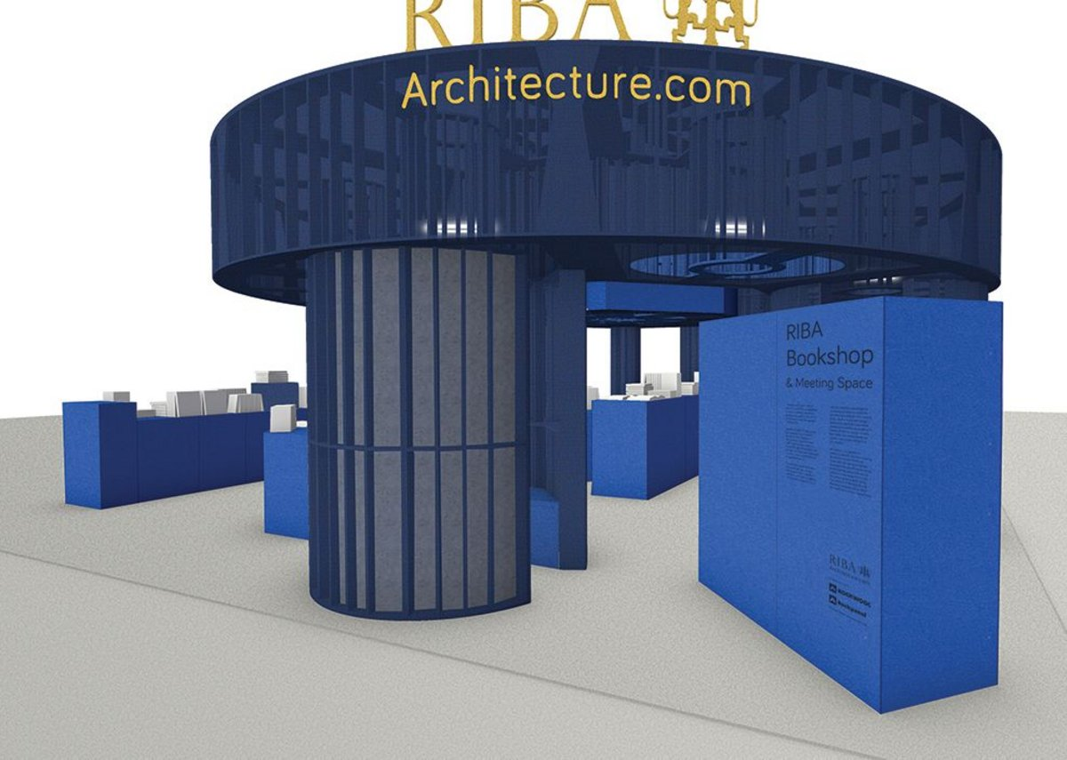 The thick 'columns' in fact contain insulated reading booths.
