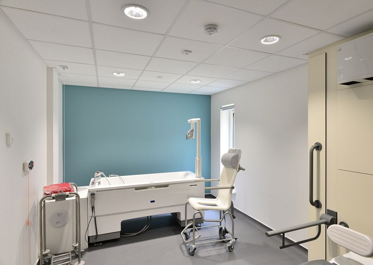 The New Dumbarton Care Home with installations by Armstrong Ceilings.