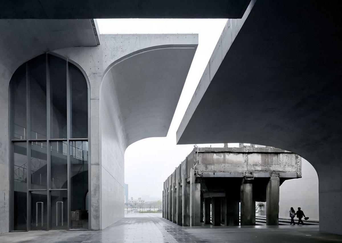 Main entrance, Long Museum, Shanghai, 2012.