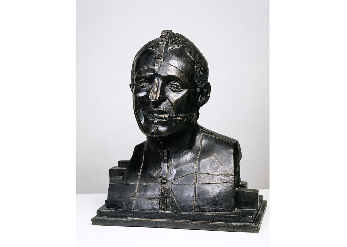 Eduardo Paolozzi, Portrait of Richard Rogers, 1988.