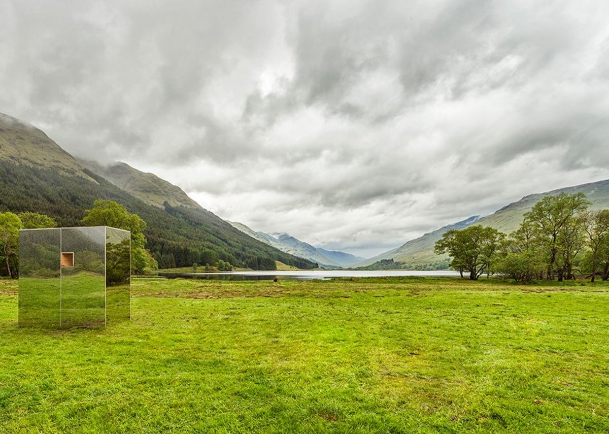 The Lookout by students Angus Ritchie and Daniel Tyler, part of Scottish Scenic Routes.