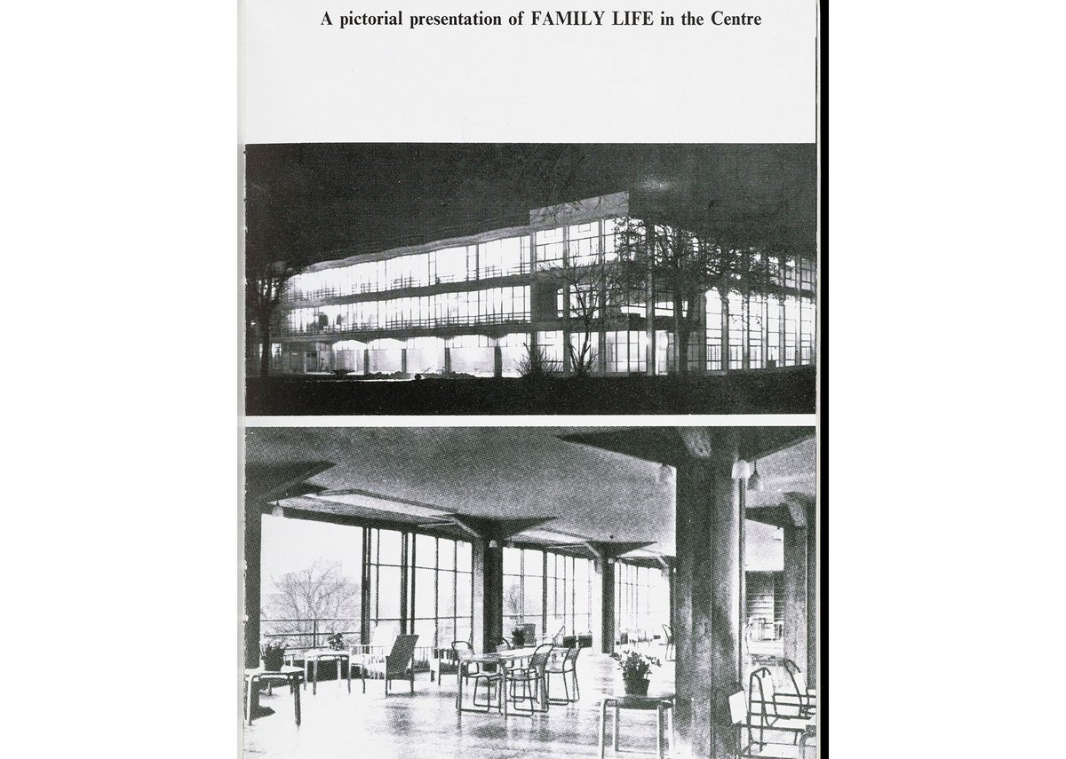 Archive images of the Pioneer Health Centre, Peckham, from the pamphlet 'Health of the Individual, of the Family, of Society'.