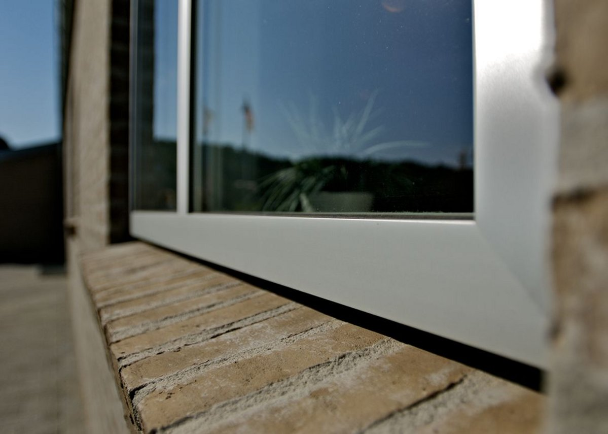 Let the daylight in with slim frames, low maintenance windows