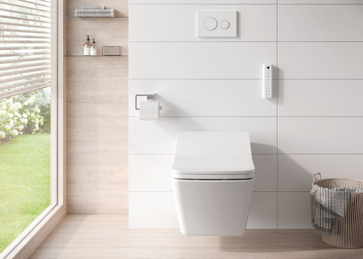 Toto's latest Washlet designs bring elegant lines and super-slim profiles to bathrooms.