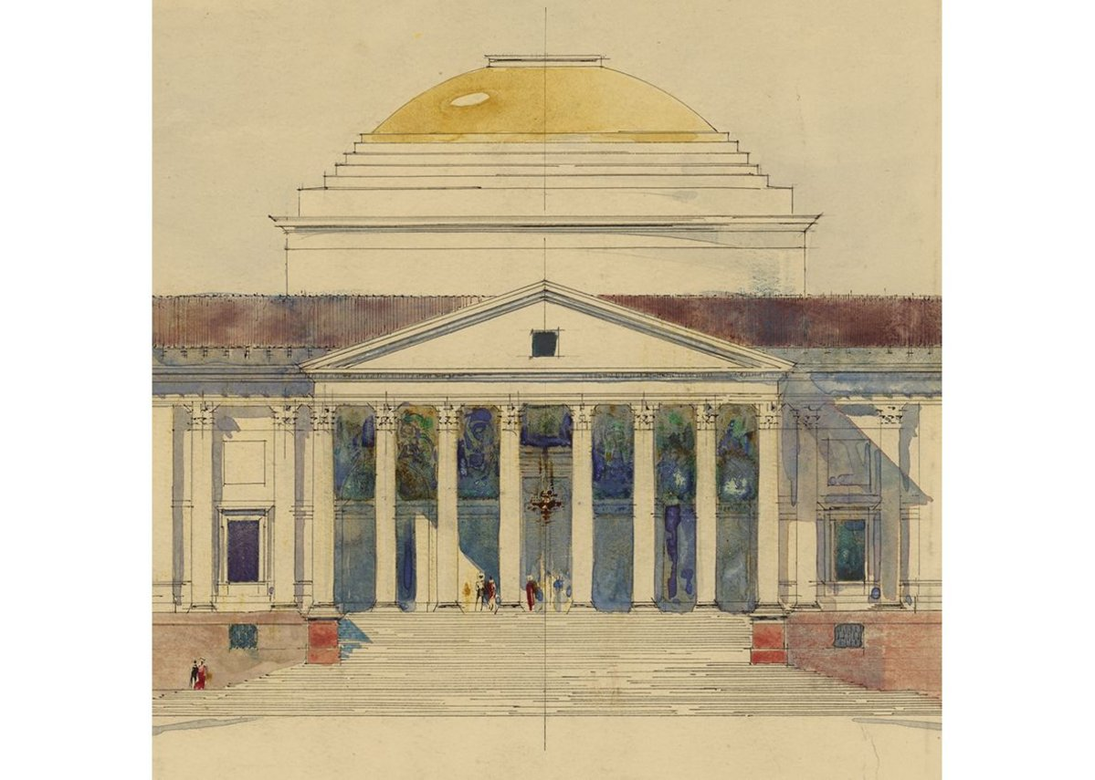 Viceroy's House, New Delhi by Edwin Lutyens, 1912