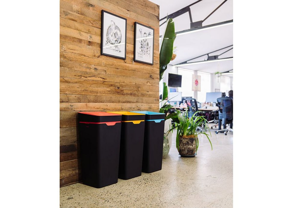 A Method recycling station in design company Canva's office in Sydney, Australia.