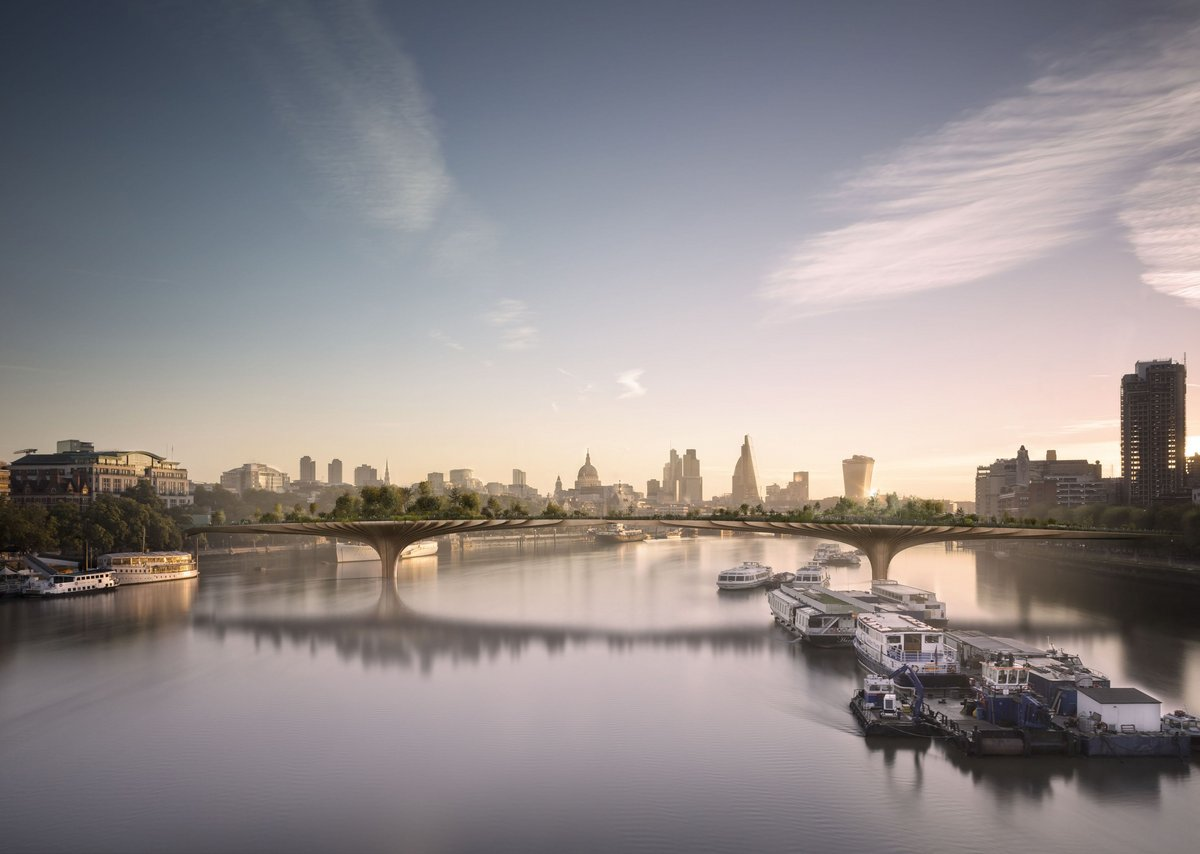 Thomas Heatherwick – proposed Garden Bridge.