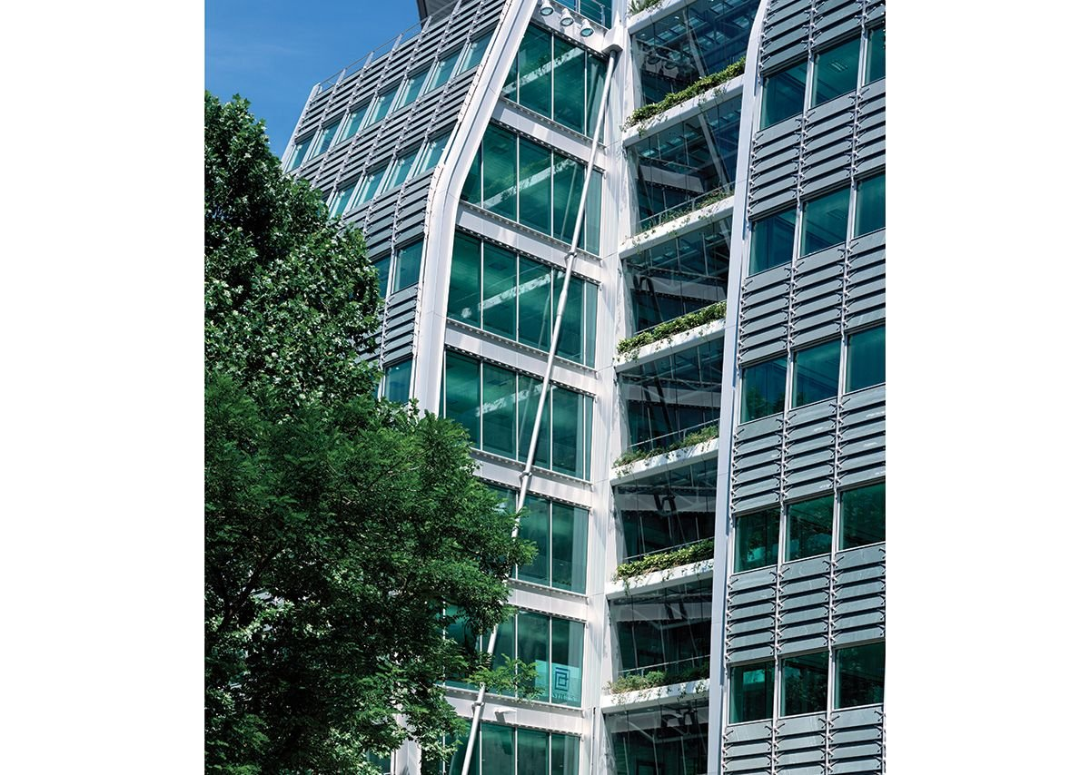 2001: Lloyds Banking Group Headquarters, London, UK.
