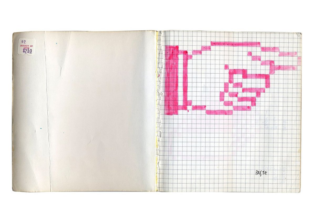 Sketches for Graphical User Interface Icons, Susan Kare, 1982. Ink on paper. San Francisco Museum of Modern Art.