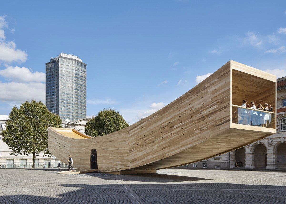 The Smile by Alison Brooks Architects - Structural Award 2017.