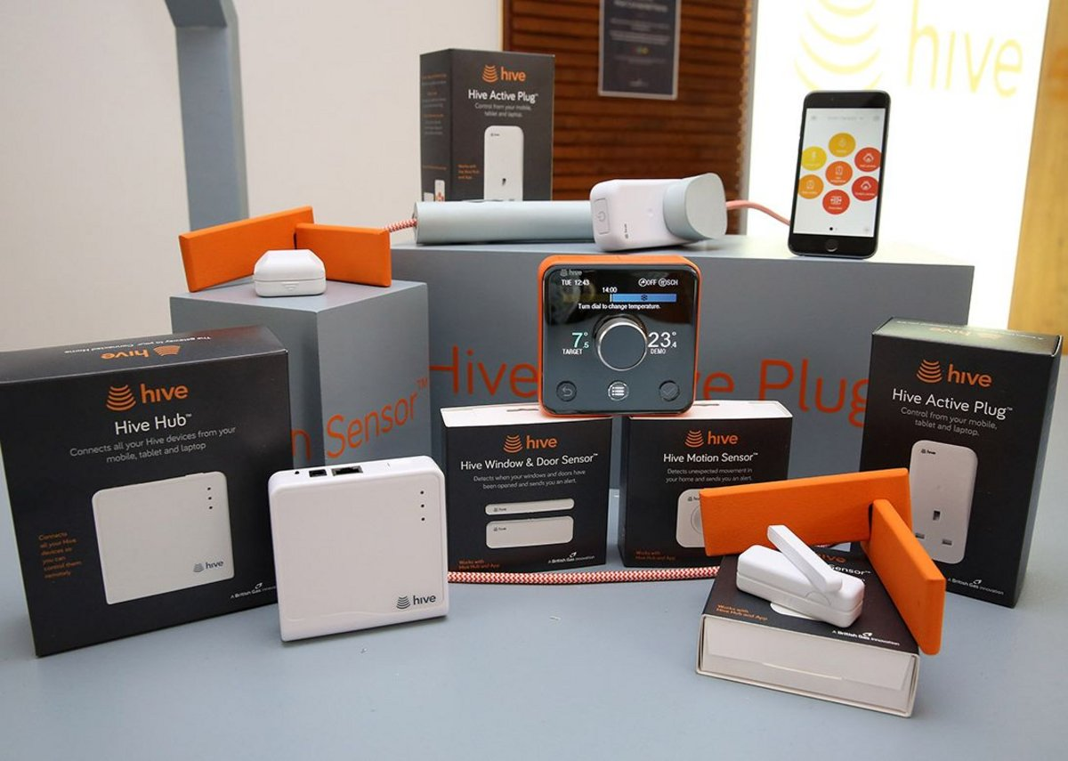 Hive Active Heating 2 has a family of complementary home products.