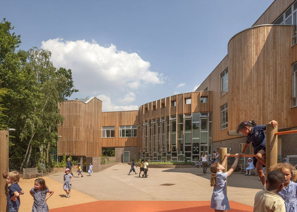 Ashmount Primary School by Penoyre & Prasad.