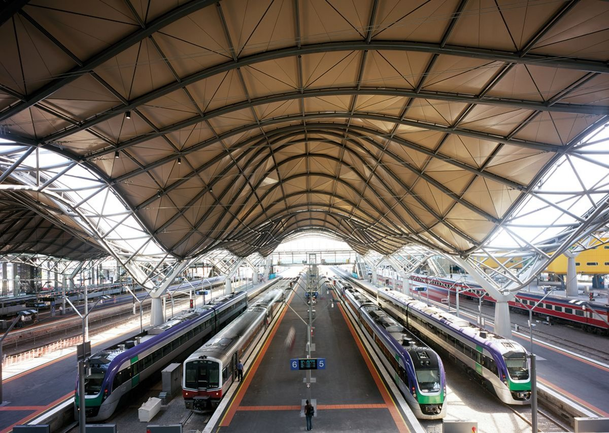 Southern Cross Station, Melbourne, Australia.