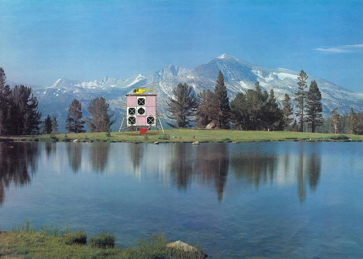 Helipad House - the techno-rural idyll.