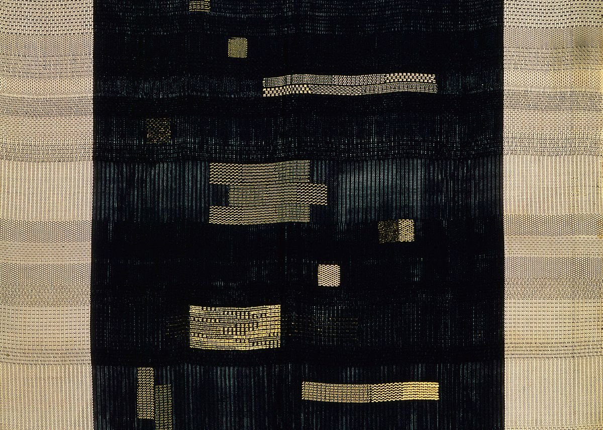 Ancient Writing, 1936, Anni Albers. Cotton and rayon.