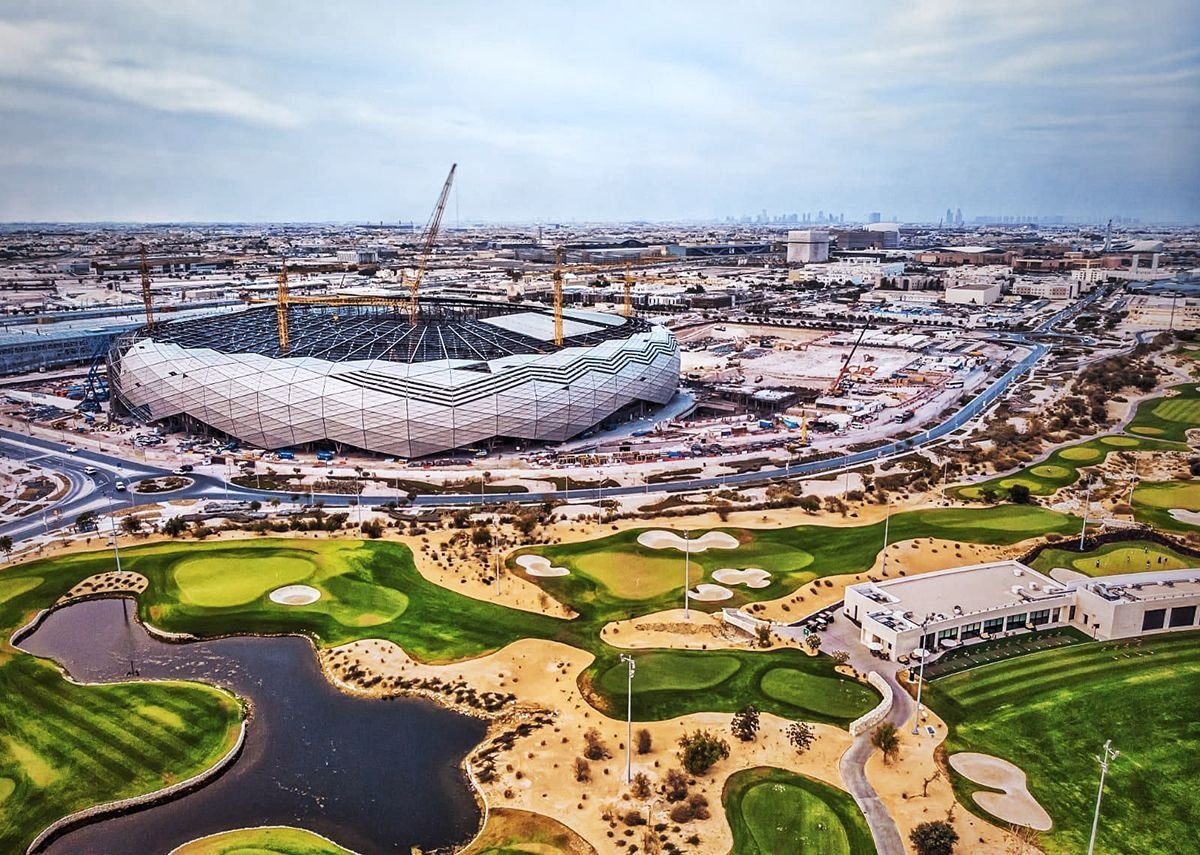 On Education City Stadium and Sports Pavilions, Doha, Tyrer had 14 on his team and led on Facade, Roof and Bowl, including all sub-systems and packages from lighting to FIFA cameras