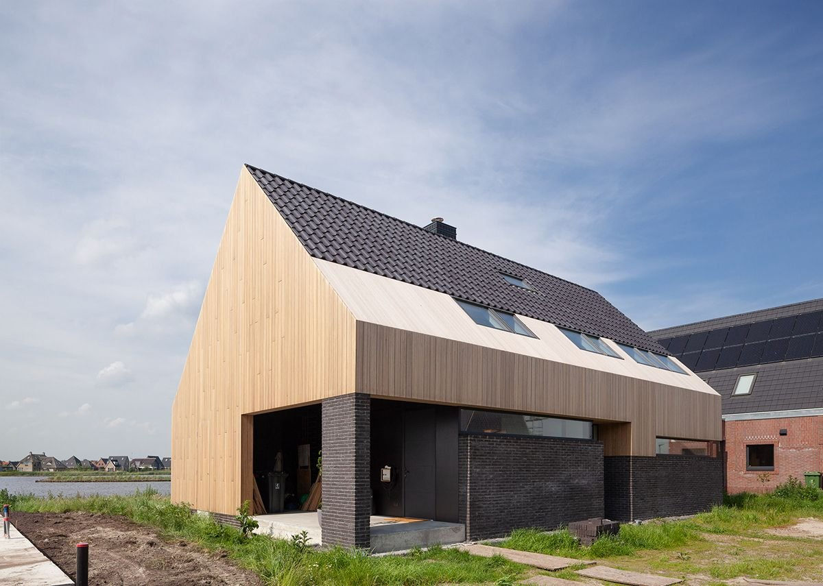 This Side Up is mainly constructed from timber to allow for movement in the structure.