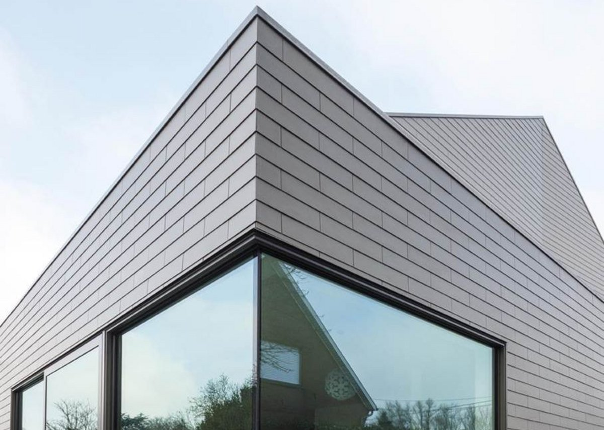 Contemporary vertical slating
